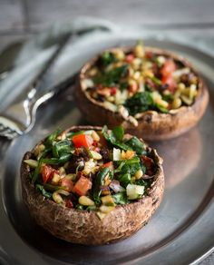 Raw Stuffed Mushrooms - got a secret recipe for this one :)