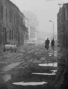 Mikael KIhlman, Cold morning after rain, 63x49 cm, 1995
