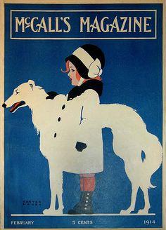Feb., 1914. Carter Housh, cover artist