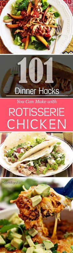 101 Easy Rotisserie Chicken Recipes