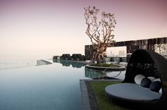 Hilton Pattaya Roof Deck and Pool at Dawn | Pok Kobkongsanti, TROP