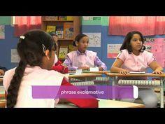 Soutien scolaire - Français - Novembre 2012 types de phrase