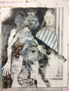 Featuring select works by Veronica Cay available at Anthea Polson Art on the Gold Coast Australia, specialising in contemporary Australian art and sculpture Gold Coast Australia, Buddhist Art, Australian Art, Collage Ideas, Collage Art, Figurative Art, Veronica, Sculpture, Contemporary