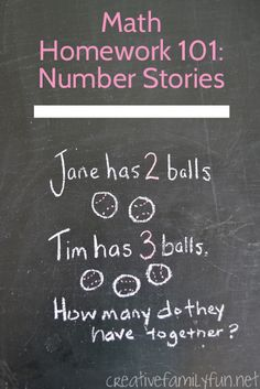 Math Homework 101: Number Stories. Join me as we talk parent to parent and break down number stories. We'll learn together how we can be a better help to our kids. Plus, I'll explain some of those confusing new terms that keep popping up in your kid's math homework.