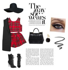 """""""High Fashion Girl"""" by xkissablegurlx ❤ liked on Polyvore featuring Dolce&Gabbana, Giuseppe Zanotti, Michael Kors, Elizabeth and James, Annina Vogel and L'Oréal Paris"""