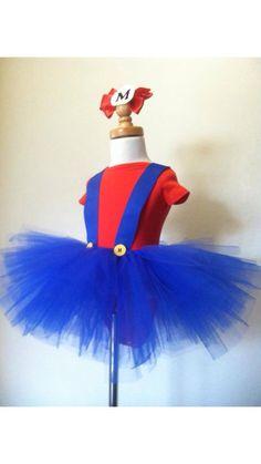 Mario tutu! Perfect for my princess's Mario birthday party!