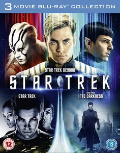 Star Trek / Star Trek Into Darkness / Star Trek Beyond [Blu-ray] [2016]