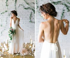 Sabemos que, quando o assunto é vestido de noiva, a imagem que nos vêm à mente é de vestidos rendados e ultra sofisticados. Mas se engana quem pensa que mo