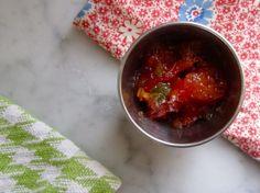 Spicy Tomato Jam - pomonas pectin