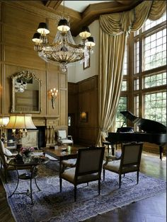 Enormous gold room. Beauty of it all #piano