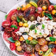 Summer Tomato and Tuna Salad | The View from Great Island