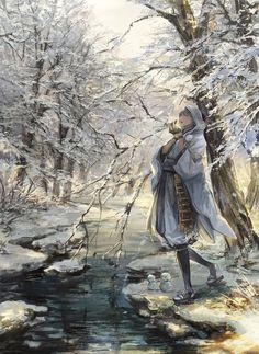 【刀剣乱舞】雪景色と鶴丸国永|刀剣速報-刀剣乱舞まとめブログ-