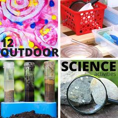 Get outside with fun outdoor science activities. Week 1 of our 31 Days of outdoor STEM featuring natural and physical sciences, art, chemistry, and more!
