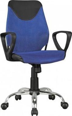 New Amstyle AMSTYLE Kinder Schreibtischstuhl KiKa Schwarz Blau f r Kinder ab mit Lehne Kinder