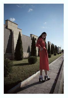 hues of red and sunshine in this editorial by Alina Koshkina (Ukraine)- Fashion Grunge  http://fashiongrunge.com/2016/12/02/red-wine-by-alina-koshkina/