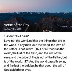 Daily verse and Devotional Wisdom Quotes, Bible Quotes, Bible Verses, Scriptures, John 2 15, Being In The World, Spiritual Wisdom, Verse Of The Day, Christian Inspiration