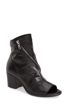 Summit Summit by White Mountain 'Fantasia' Open Toe Bootie (Women) available at #Nordstrom