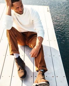 """🔷 Houston Merrill 🔷 on Instagram: """"""""Pondering the future begins with looking at the past."""" -Someone • • • #modeling #inaction #clothingcompany #comfyknits #flyfishing…"""" Clothing Company, Fly Fishing, Houston, Modeling, The Past, Hipster, Comfy, Future, Knitting"""