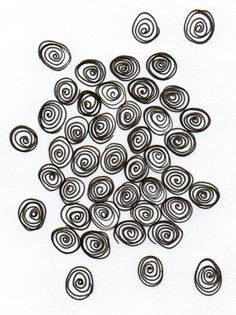Thermofax Screen Pebbles by FabricImagery on Etsy