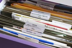 Use organizing expert Fay Wolf's simple solutions for organizing your paperwork.