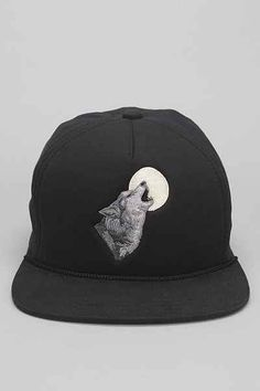 a79400e32b2 Coal The Lore Wolf Snapback Hat - Urban Outfitters