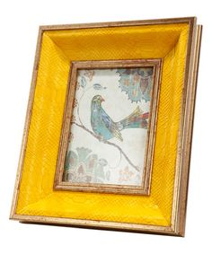 Take a look at this Yellow Bird Wall Art today!