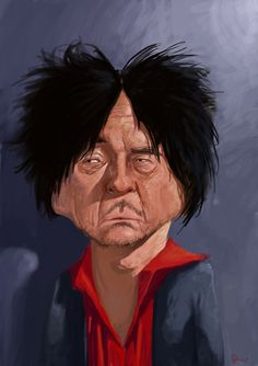 Choi Min-sik caricature by ~amircatic on deviantART
