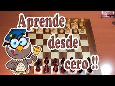 Como jugar ajedrez (ajedrez básico, principiantes) - YouTube