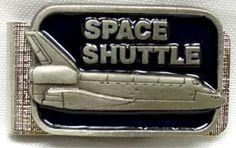 SPACE SHUTTLE MONEY CLIP $24.99