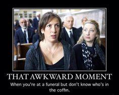 "Miranda Hart - That Awkward Moment. ""It's like deal or no deal but with dead people"" Miranda Tv Show, Miranda Bbc, Miranda Hart Quotes, Make Em Laugh, British Comedy, Bbc One, Comedy Tv, Awkward Moments, Humor"