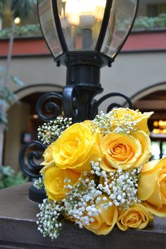 Yellow Roses wedding bouquet Embassy Suites Hotel-Nashville-Photos taken by Lindsey Pillow