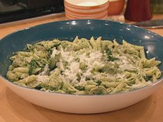 Spring Baby Artichoke and Spinach Pesto #Pasta