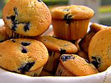 Ina Garten- Blueberry Coffee Cake Muffins Recipe