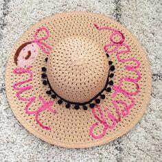 Glitter and Juls: DIY Donut Sequin Beach Hat