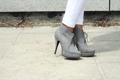 grey & white, lovely