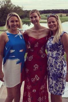 Ivanka Trump wearing Reformation Tropica Dress in Shoshana