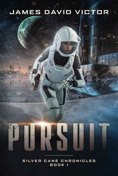 Pursuit (Silver Cane Chronicles Book 1) by James David Victor - cover art by Luca Oleastri - www.innovari.wix.com/innovari