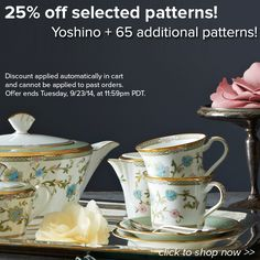 25% off selected patterns! http://noritakechina.com/selected-current-patterns.html?p=all #noritake #sale #dinnerware #tablescape