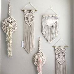 New Macrame Wall Hangings coming soon! ✨