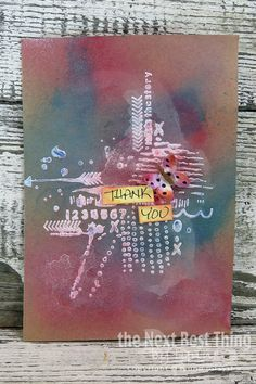 Gesso Cards by Lynne Forsythe