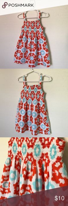 Carter's sundress Great condition! No holes or stains. Only worn a few times.  Material: 100% cotton Carter's Dresses Casual