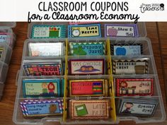 Classroom Economy: Part 3 VERY detailed blog post explaining how to efficiently run a classroom economy! TONS of ideas to take! FREEBIES included! Pin now! Great for classroom management!
