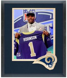 Greg Robinson 2014 NFL Draft #2 Draft Pick Rams - 11 x 14 Matted/Framed Photo