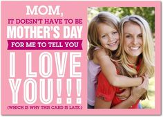 We've got your back if you forget to send a Mother's Day card. We will make it look like you remembered. Treat.com
