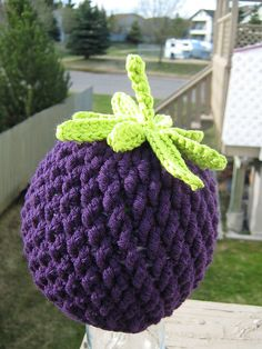 Crochet Pattern for Berrylicious Beanie Hat - 6 sizes, baby to adult - Welcome to sell finished items. $4.95, via Etsy.