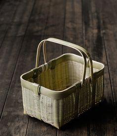 Bamboo basket from Miyagi, Japan