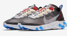 Look for the Nike React Element 87 Dark Grey to release on August d28280020
