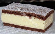 Sweet Desserts, No Bake Desserts, Sweet Recipes, Kaja, Tiramisu, Recipies, Cheesecake, Deserts, Sweet Home