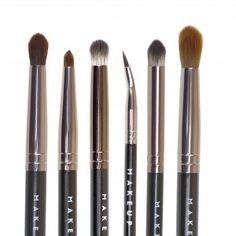 Makeup Geek Eye Brush Bundle I think I need this set. $43 for the whole bundle at Makeupgeek.com