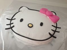 Without so much as a taste, we kissed Hello Kitty goodbye. Sure, the cute cartoon cat is adored around the globe and frequently requested on my YouTube channel, but in our boy-filled home this lovely cake was never going to hold pride of place at an 11-year-old's birthday party! So instead, I put a notice up on Instagram offering a free kitty to a good home (it was snapped up within 3 minutes).I later received